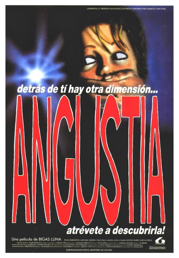 Angustia Bigas Luna 1987 Poster