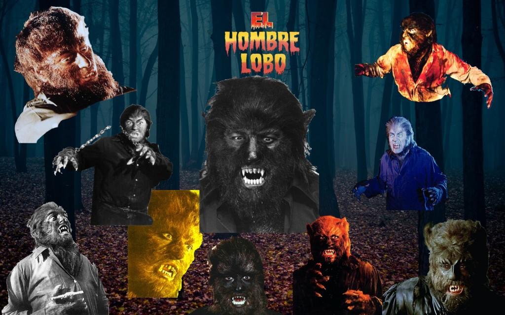 Hombre Lobo Collage