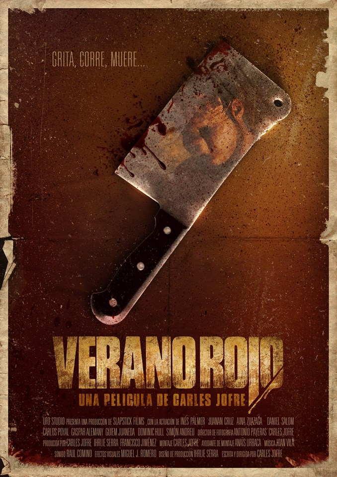 Verano Rojo Poster-Teaser